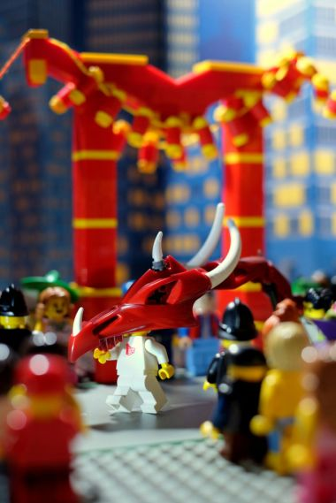 Dragon in the Year of the Horse Parade